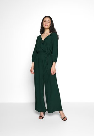 RUFFLE RAGLAN - Jumpsuit - green