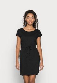 Vero Moda Petite - VMAPRIL SHORT DRESS 2 PACK - Jerseykjole - black/black /snow white - 3