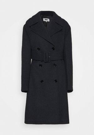 Klasický kabát - navy
