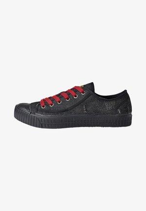 ROVULC 50 YEARS DENIM LOW - Sneakers laag - black