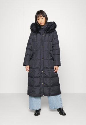 MAXI INSULATED COAT - Down coat - navy