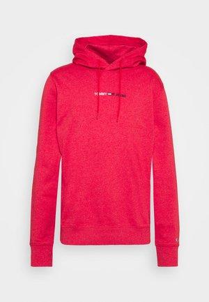 STRAIGHT LOGO HOODIE - Sweatshirt - pink