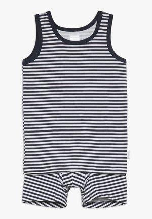 Ondergoedset - dark blue/white
