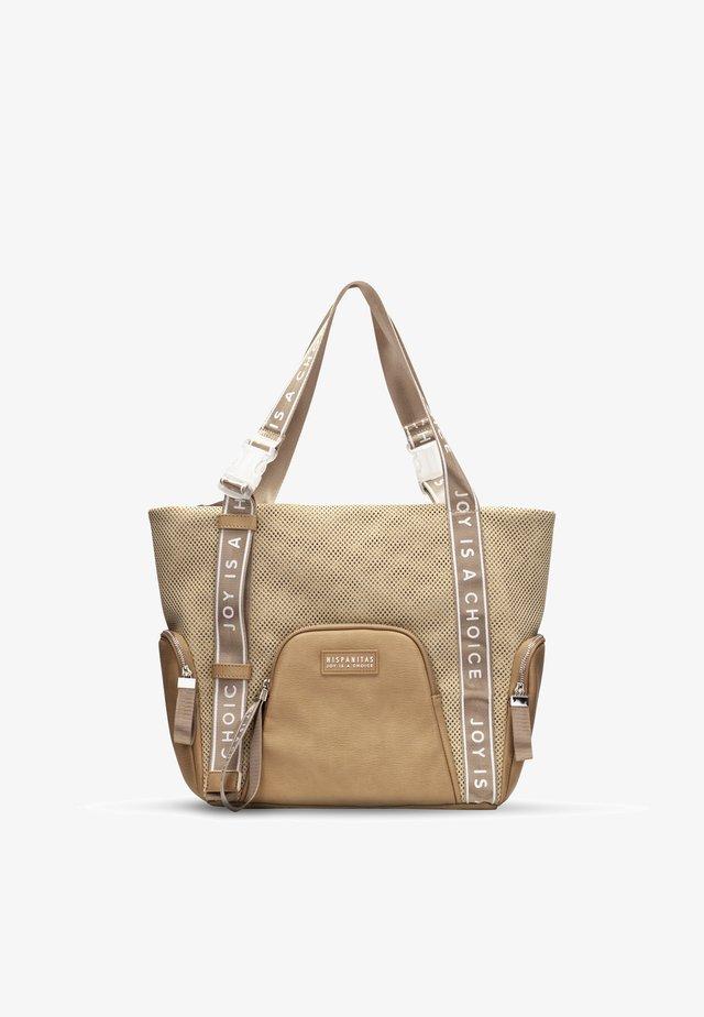 BOLSOS  - Velká kabelka - beige