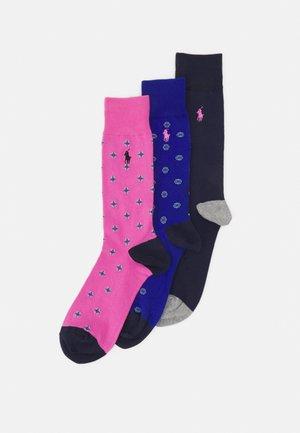 FOULARD 3 PACK - Socks - carmel pink