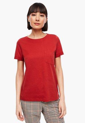 KURZARM - Basic T-shirt - dark red