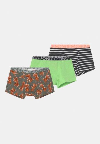 3 PACK - Pants - multi coloured/dark green