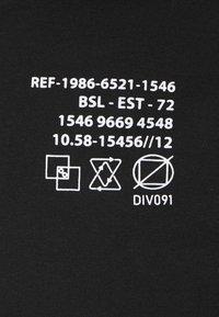 Brave Soul - DEMETER - T-shirt imprimé - jet black - 2