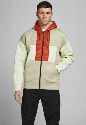 Zip-up hoodie - silver birch