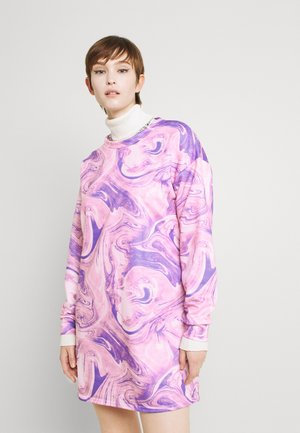 MARBLE DRESS - Day dress - lilac