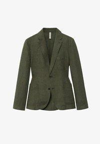 Mango - Blazer jacket - kaki - 6