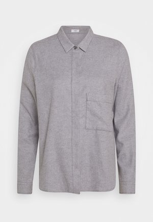 HAILEY - Button-down blouse - grey heather melange