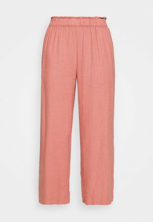 EVERYDAY PULL ON - Trousers - mahogany