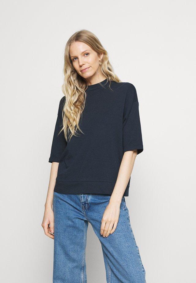 HIGH NECK - T-shirt basic - dark night