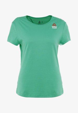 TEE GAMES - Print T-shirt - emerald