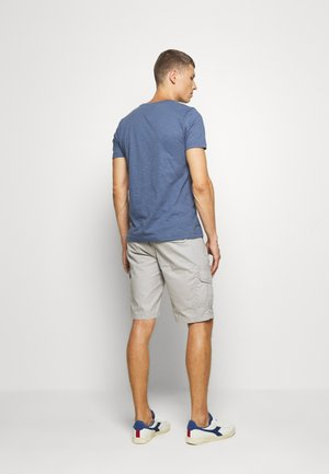 SLUB TEE - Basic T-shirt - blue