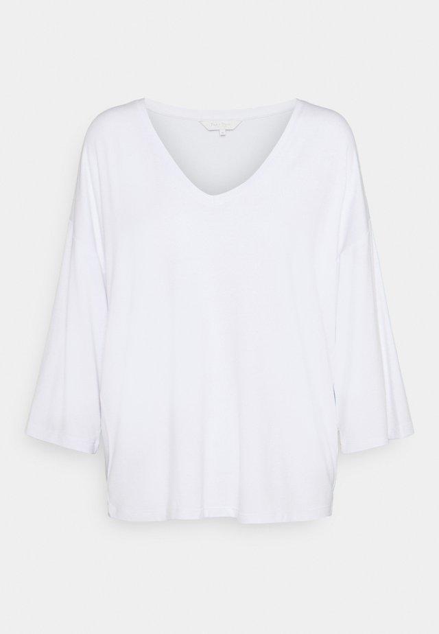 Top sdlouhým rukávem - bright white