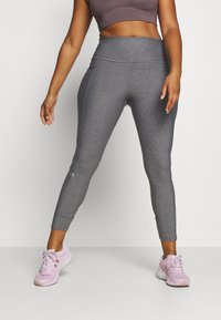 Under Armour - HI RISE LEGGINGS - Collant - charcoal light heather - 0
