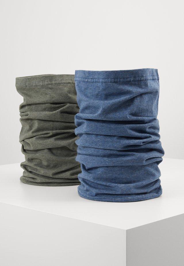 ZAUBERTUCH 2 PACK - Szalik komin - blue/grey