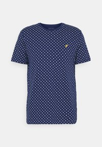Pier One - Print T-shirt - dark blue - 5