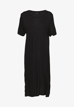 LILJA DRESS - Jersey dress - black