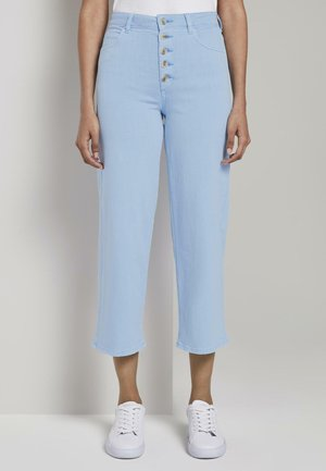 MINE TO FIVE TOM TAILOR JEANSHOSEN KATE STRAIGHT CULOTTE - Straight leg jeans - soft charming blue