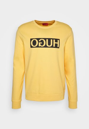 DICAGO - Sweatshirt - light/pastel yellow