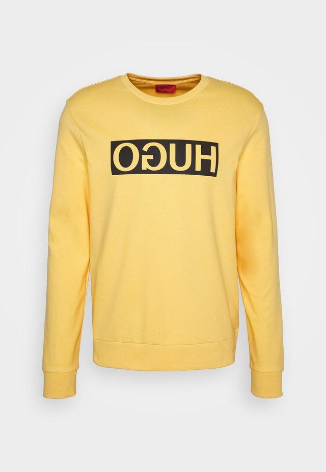 DICAGO - Sweatshirt - light/pastel yellow