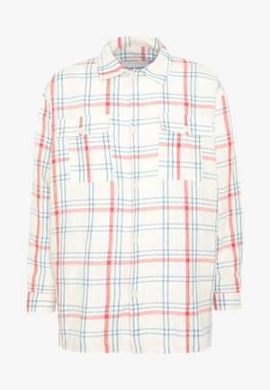 MIAMI SHIRT - Skjorta - light blue denim/orange