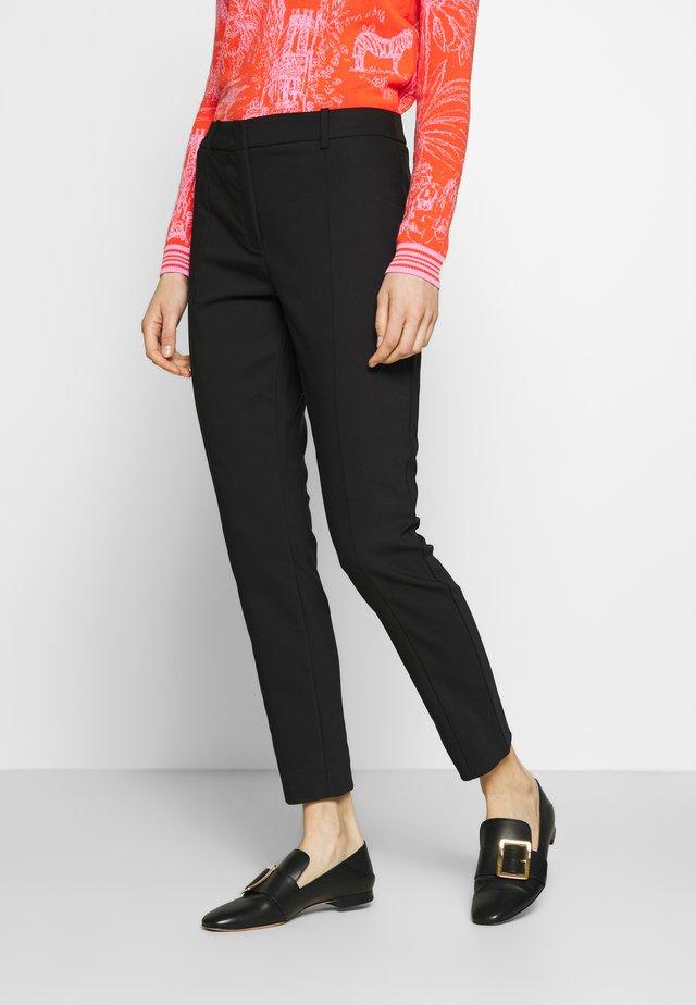 ALAGGIO - Pantalon classique - black