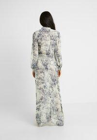 Missguided Tall - CHINA PLATE BUTTON FRONT MAXI DRESS - Cocktail dress / Party dress - blue - 3