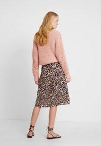 s.Oliver BLACK LABEL - KURZ - A-line skirt - brown - 2