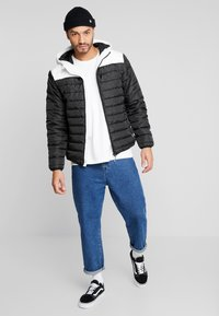 Only & Sons - ONSGEORGE QUILTED HOOD - Allvädersjacka - cloud dancer - 1