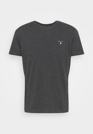 ORIGINAL - Jednoduché triko - antracite melange