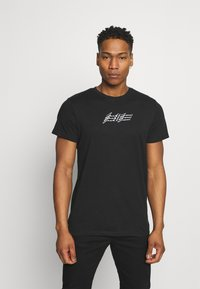 Jack & Jones - JOROMBRE TEE CREW NECK 5 PACK - T-shirt med print - white - 6