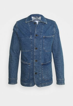 SLHJACKSON JACKET - Džínová bunda - medium blue denim