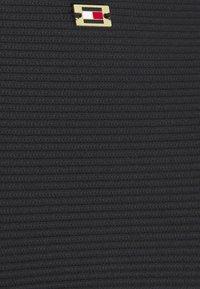Tommy Hilfiger - SOLIDS CHEEKY HIGH LEG - Bikini bottoms - black - 5