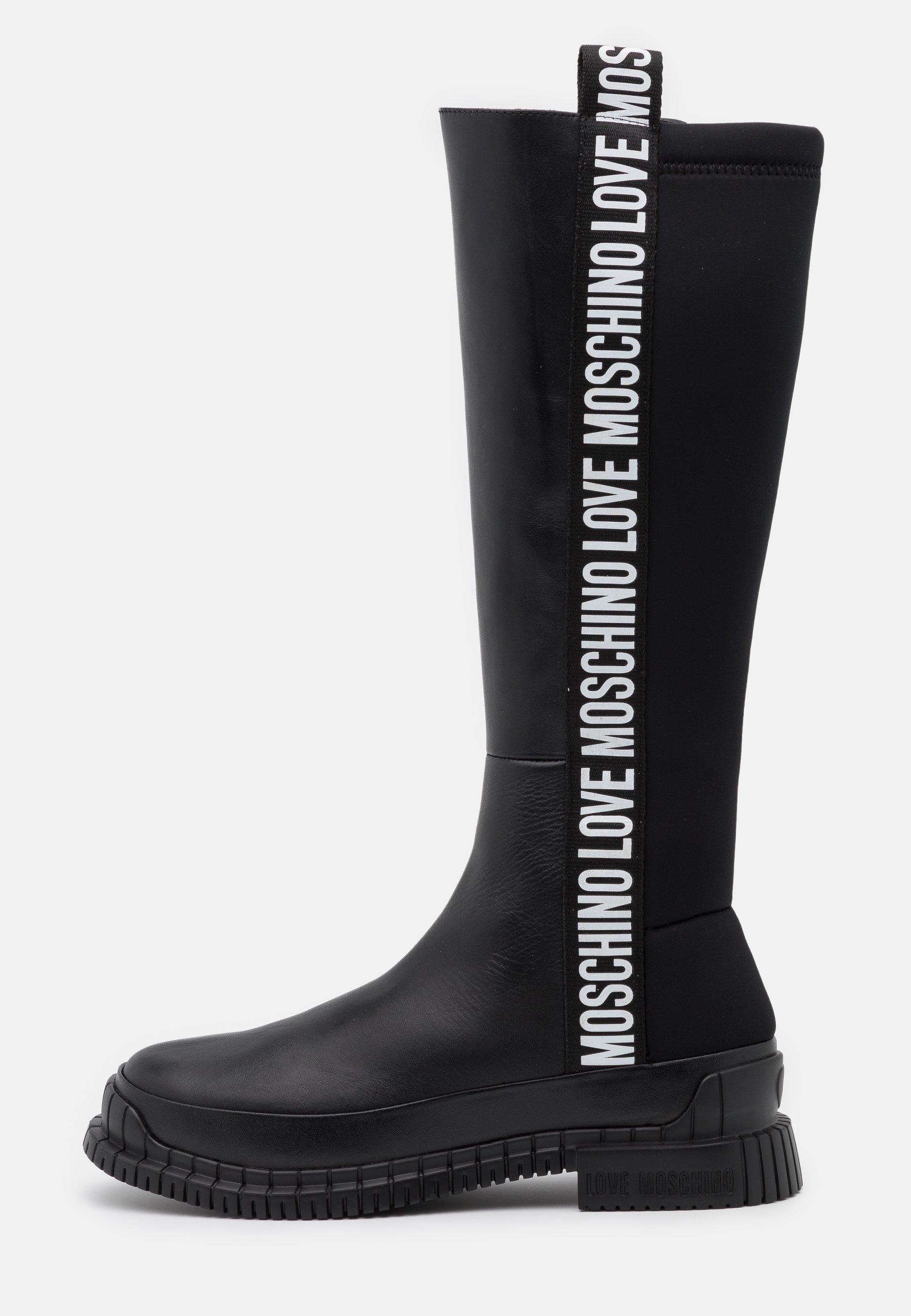 Love Moschino Street - Stiefel Black/schwarz