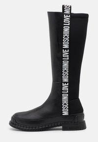 STREET LOVE - Vysoká obuv - black