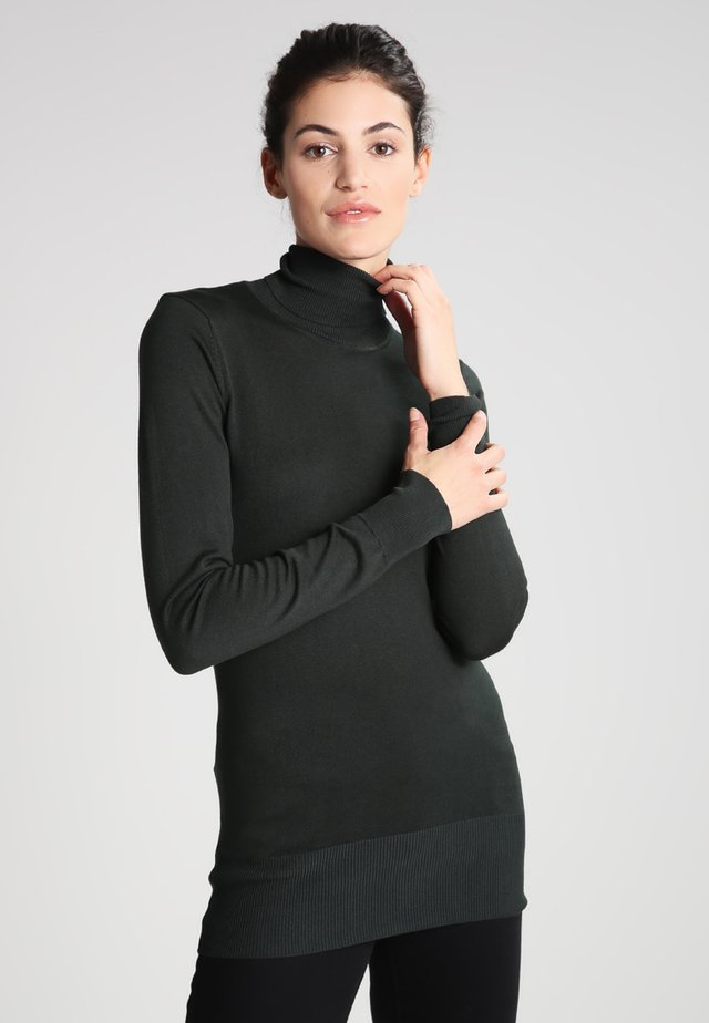 ASTRID ROLL NECK - Jumper - green spruce