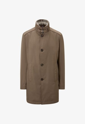 Short coat - dunkelbeige