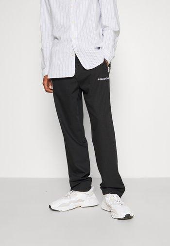 VINTO WIDE TRACK PANTS UNISEX - Pantalon de survêtement - black