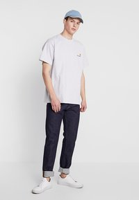 Carhartt WIP - AMERICAN SCRIPT  - T-shirt basique - ash heather - 1