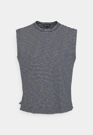 MUSCLE VEST - T-shirt basic - navy/multi