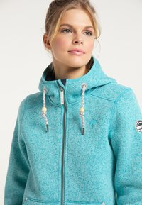 Schmuddelwedda - Fleece jacket - türkis melange - 3