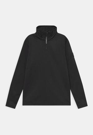 Fleecová bunda - black out