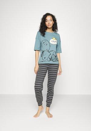 SNOOPY SET - Pyjamas - blue mix
