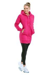 Winshape - Zip-up hoodie - deep pink - 1