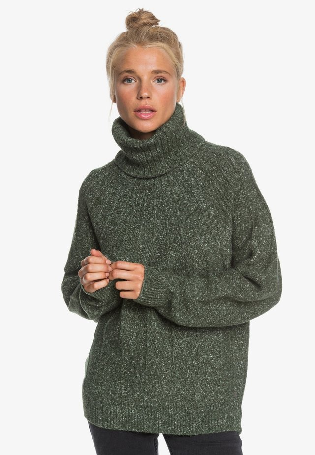 Pullover - cilantro