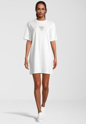 Jersey dress - snow white